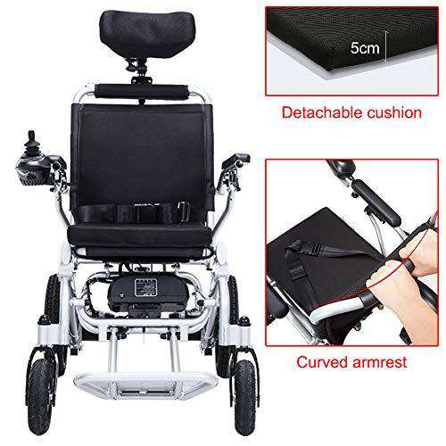 Heavy Duty Electric Wheelchair With Headrest