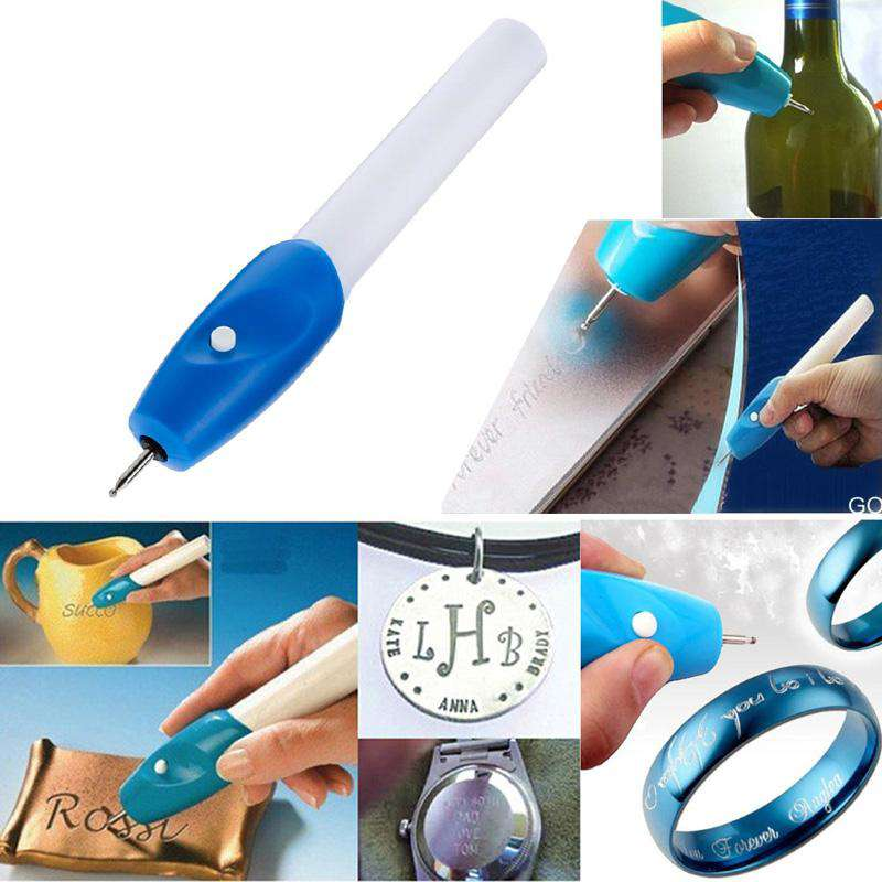 1pc Mini Engraving Pen Electric Jewellery Glass Wood Engraver Carving Pen Machine Grave Tool, , www.suppashoppa.co.uk