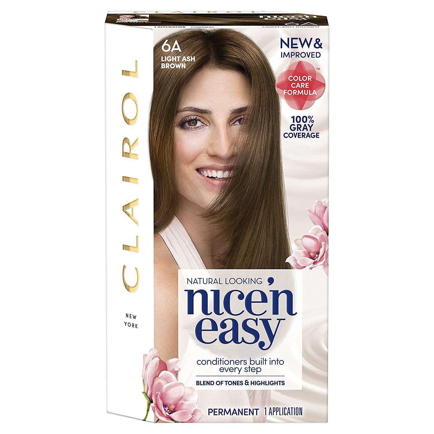 Clairol Nice 'N Easy Permanent Hair Color Kit, 5G Medium Golden Brown (Pack of 3)
