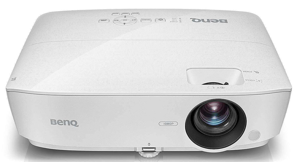 BenQ TK800 True 4K UHD HDR Home Entertainment Projector, DLP, 3000 Lumens, Football Mode, White/Blue