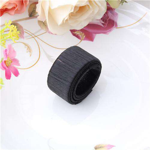 Women Hair Accessories Synthetic Wig Donuts Bud Head Hair Band Headband Ball French Twist Magic DIY Tool Bun Maker French Dish