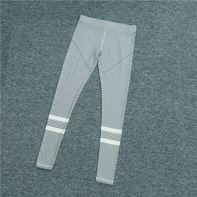 2017 New Autumn Fashion Women Leggings Trousers Casual Workout Pants jeggings Gray Stripe Elastic Fitness Leggings For Women, , www.suppashoppa.co.uk