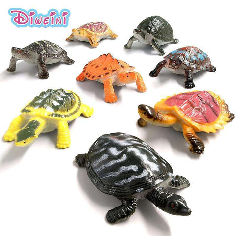 Kawaii Simulation animals statue Sea Turtle Crab model Figurine fairy garden terrarium home decor craft bonsai bottle PVC toys, , www.suppashoppa.co.uk
