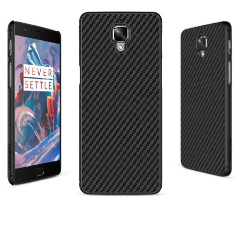 Nillkin Syntietic Fiber Series Cover for OnePlus 3/3T - Black
