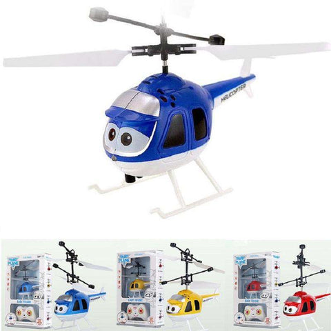 Mini Drone nfrared Sensor Helicopter Aircraft Remote Control Toy