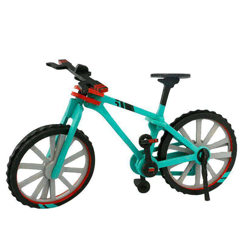 Robud Painting Bicycle Model Diecasts & Toy Vehicles For Children Above 3 Year Old 3D Wooden Puzzle H13, , www.suppashoppa.co.uk