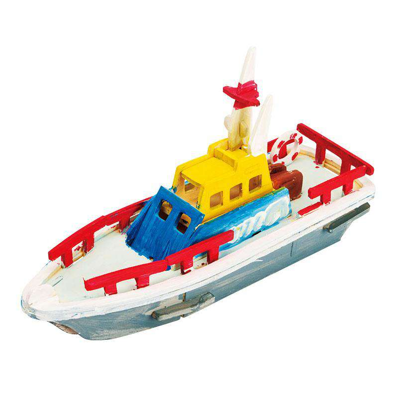 Robud Painting Lifeboat Diecasts & Toy Vehicles for Children Above 3 Years Designed By Boys and Girls H17, , www.suppashoppa.co.uk