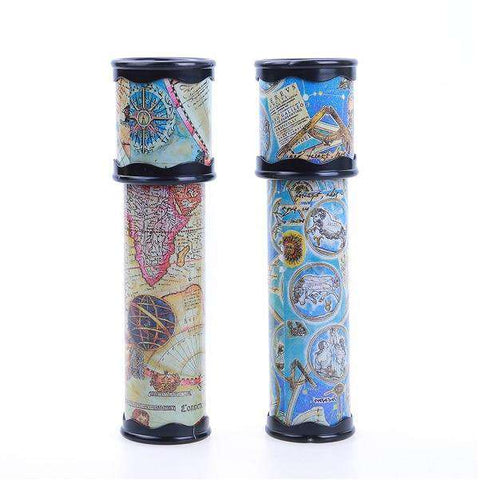 Rotating Stretchable Magic Kaleidoscopes Adjustable Colorful World Preschool Toys Kid Children Fancy Colored World 18/20/30cm, 20cm, www.suppashoppa.co.uk