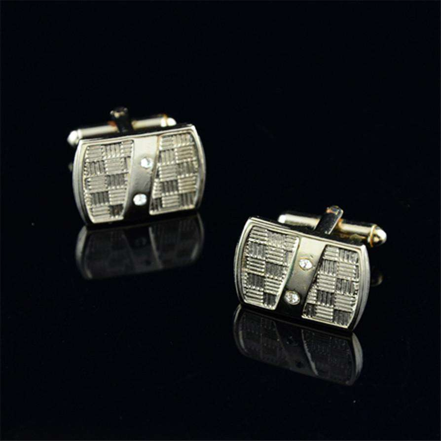 "Silver Cufflinks 2018 Hot New French Cufflink Suit Lapel Men""s Wedding Party Business Gift Cuff Link May2517, , www.suppashoppa.co.uk"