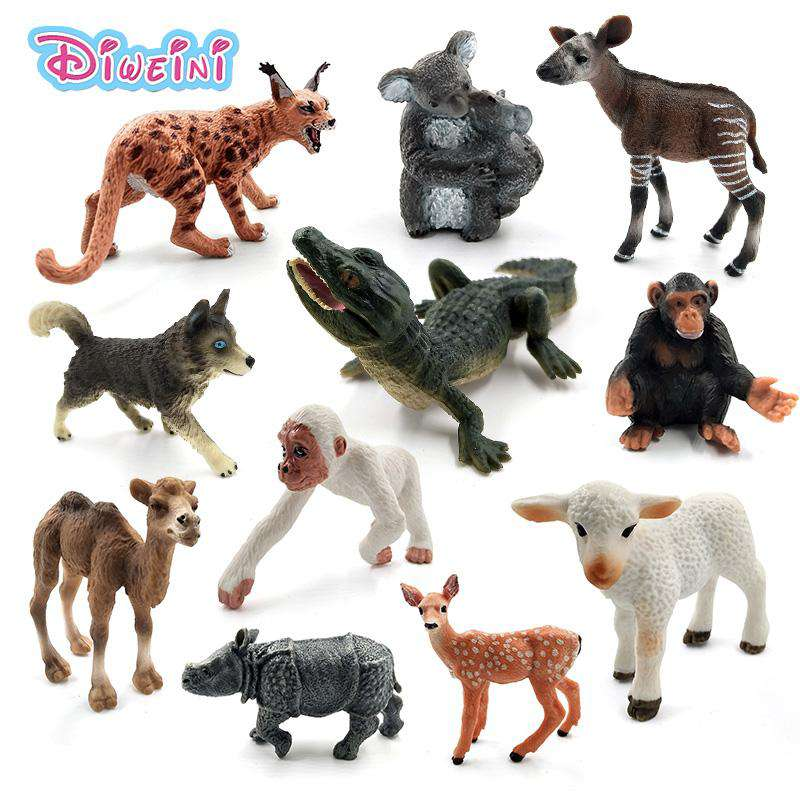 Animal model figurine