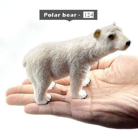forest animals model toys