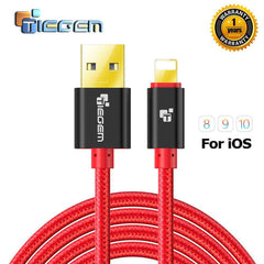 2A Nylon USB Charger Cable for iPhone