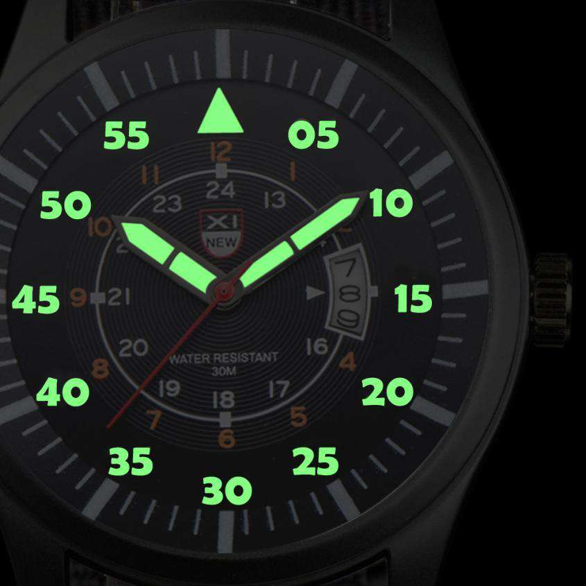 Top Brands Military Mens Luxury Business Date Calendar Casual nylon strap Watch Luminous Pointer Analog Quartz Wrist Watch Gift, , www.suppashoppa.co.uk