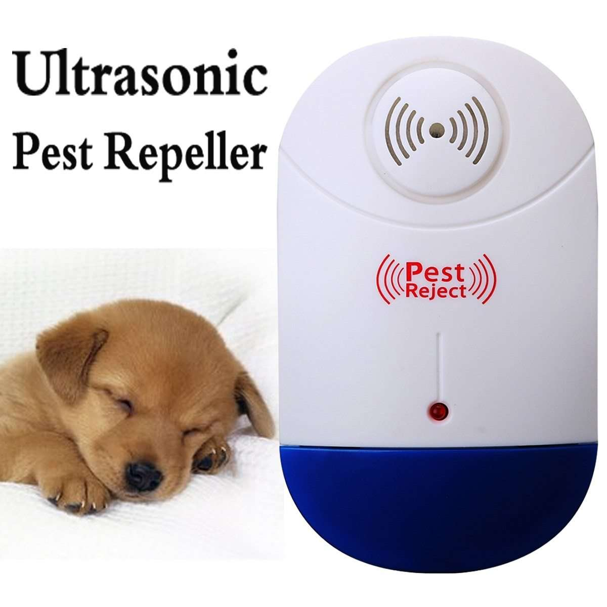 Ultrasonic Pest Repeller Electronic Mosquito Control Plug In Rodent Mice Insect Non-toxic Home Garden Pest Control Tools Device, Default title 0, www.suppashoppa.co.uk