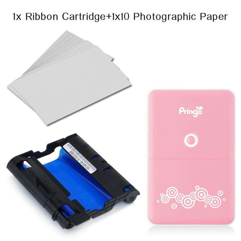 Photo+Ribbon for A674 Portable Wi-Fi Photo Printer.