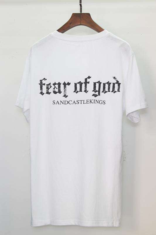 Fear Of God T Shirt Men Women Cotton FOG Justin Bieber Clothes Fearofgod t-shirts Nomad Top Tees Fashion Fear Of God T Shirt