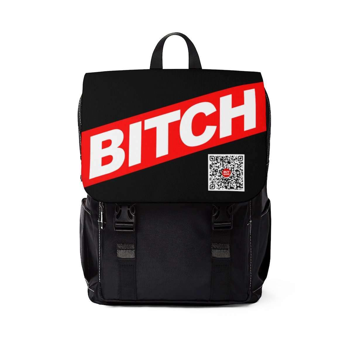 * BITCH B Unisex Casual Shoulder Backpack