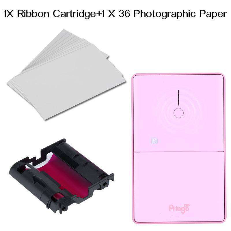 Photo+Ribbon for A688 Portable Wi-Fi Photo Printer.