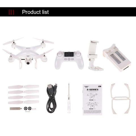 Camera 5.0MP 360 Degree Rolling LED Lighting Quadcopter