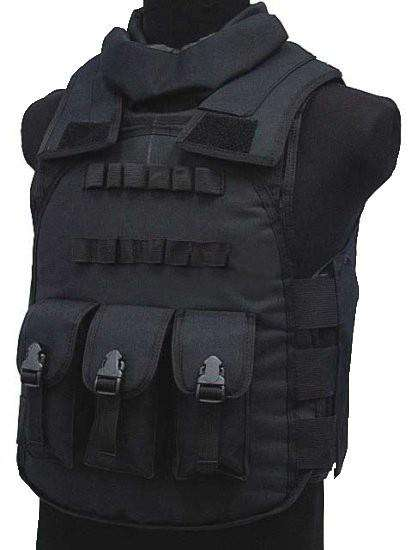 Have Duty Tactical Vest Military Molle Body Armor Combat Plates Vest Multicam Airsoft Tactical Police Uniform, Black / One Size, www.suppashoppa.co.uk