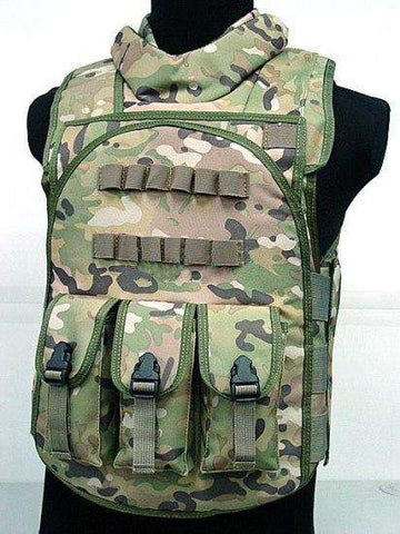 Have Duty Tactical Vest Military Molle Body Armor Combat Plates Vest Multicam Airsoft Tactical Police Uniform, Multi / One Size, www.suppashoppa.co.uk