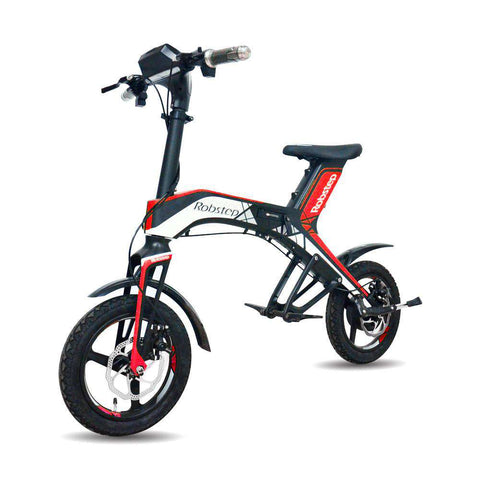 Maxfind 2018 New Fashionable Stylish 48V300W, 4.4Ah Electric Bicycle Green and healthy travel mode Robstep OEM folding, Red, www.suppashoppa.co.uk