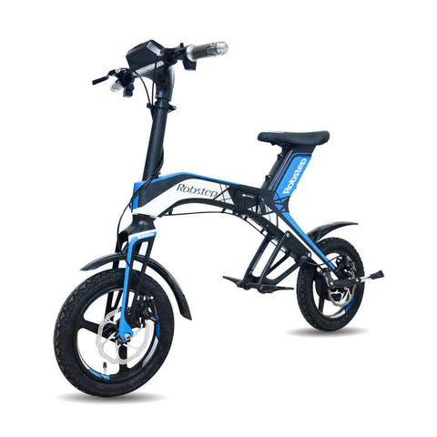 Maxfind 2018 New Fashionable Stylish 48V300W, 4.4Ah Electric Bicycle Green and healthy travel mode Robstep OEM folding, Blue, www.suppashoppa.co.uk