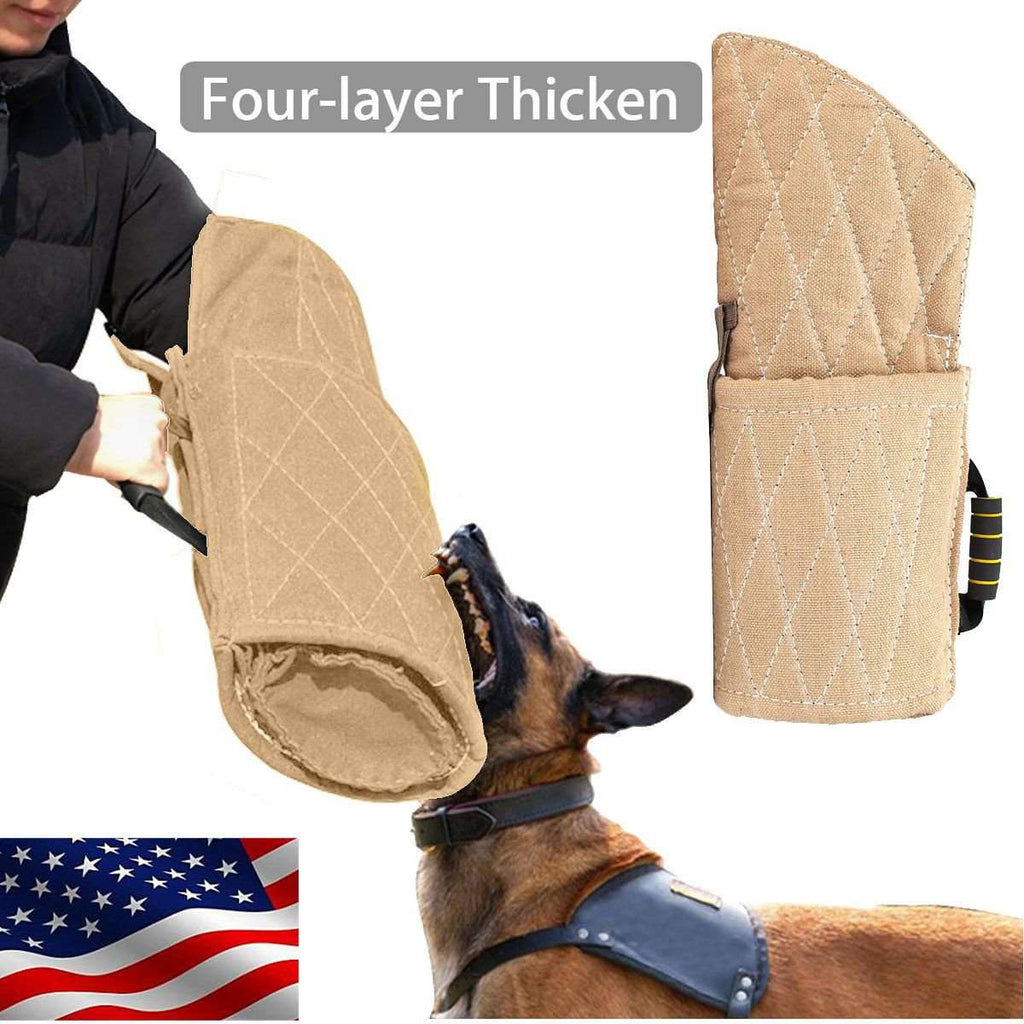Dog Training Bite Arm Sleeve for Police Working Dogs German Shepherd Malinois US, Default Title, www.suppashoppa.co.uk
