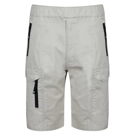 YELIR WORLD COMBAT SHORTS BEIGE