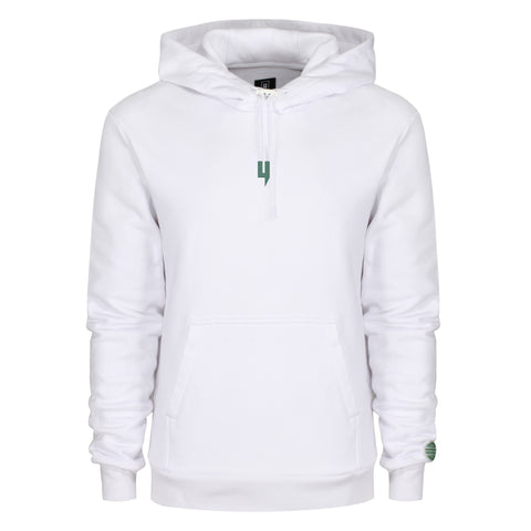 LUX HOODY WHITE GREEN