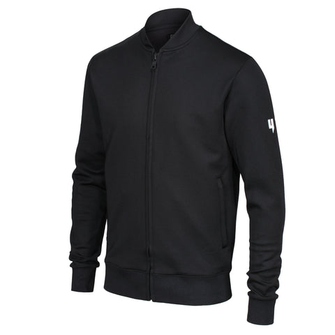 BOMBER TRACKSUIT TOP BLACK