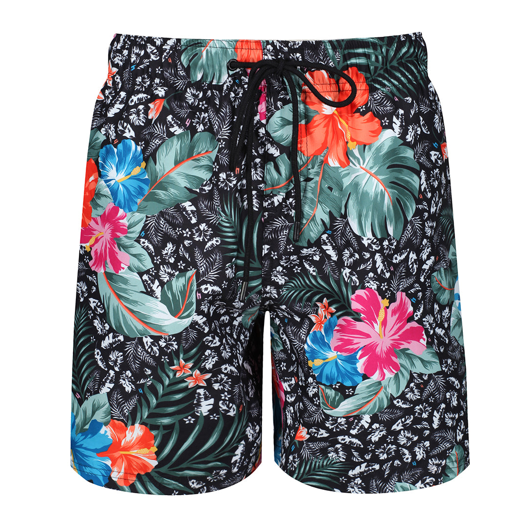YELIR WORLD SWIM SHORTS FLORAL