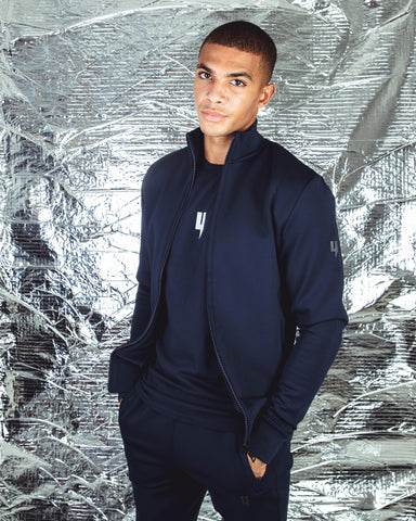 YELIR WORLD TRACK TOP NAVY
