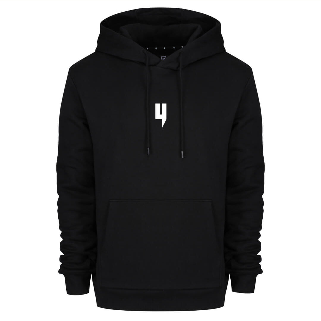 YELIR WORLD Y LOGO HOODY BLACK/WHITE
