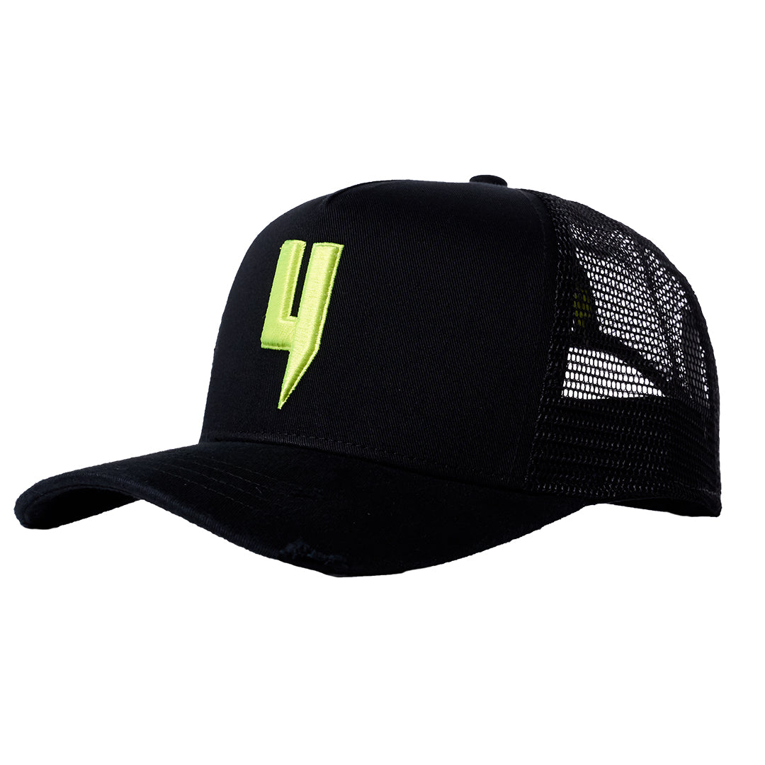 YELIR WORLD Y LOGO CAP BLACK VOLT