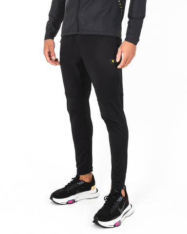 ACTIVE JOGGERS BLACK YELLOW