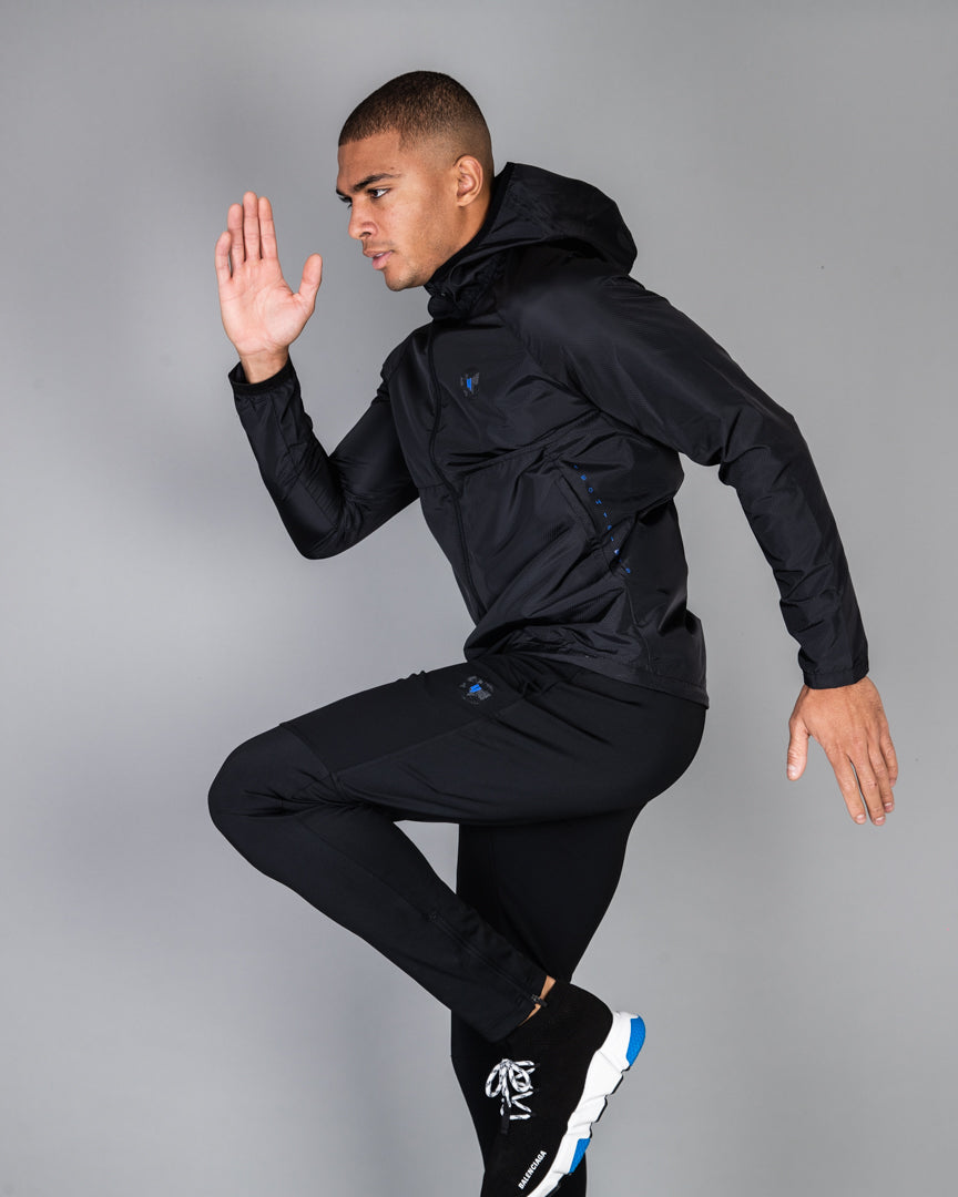 YELIR WORLD ACTIVE JACKET BLACK BLUE
