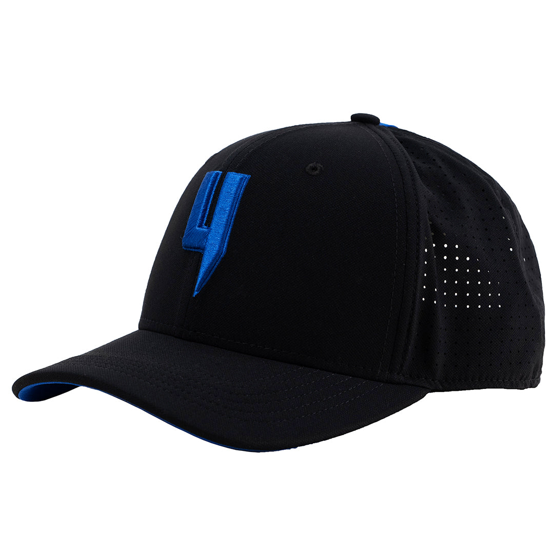 YELIR WORLD Y LOGO DYNAMIC CAP BLACK BLUE