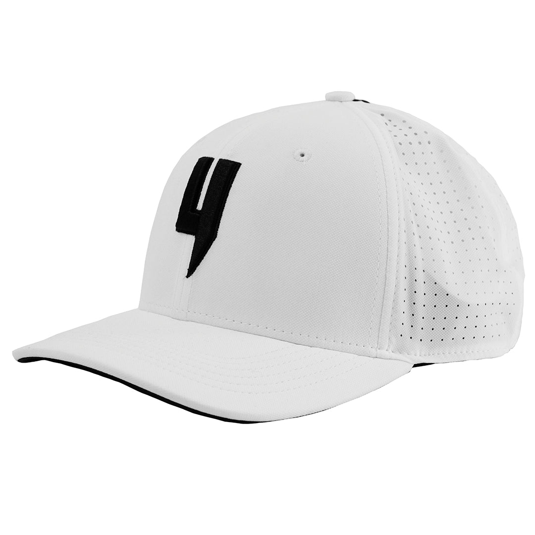 YELIR WORLD Y LOGO DYNAMIC CAP WHITE BLACK