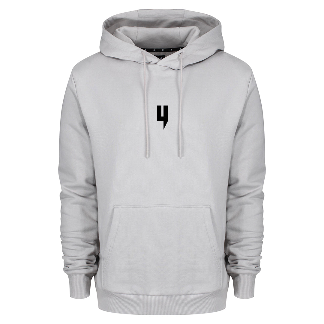 YELIR WORLD Y LOGO HOODY GREY/BLACK