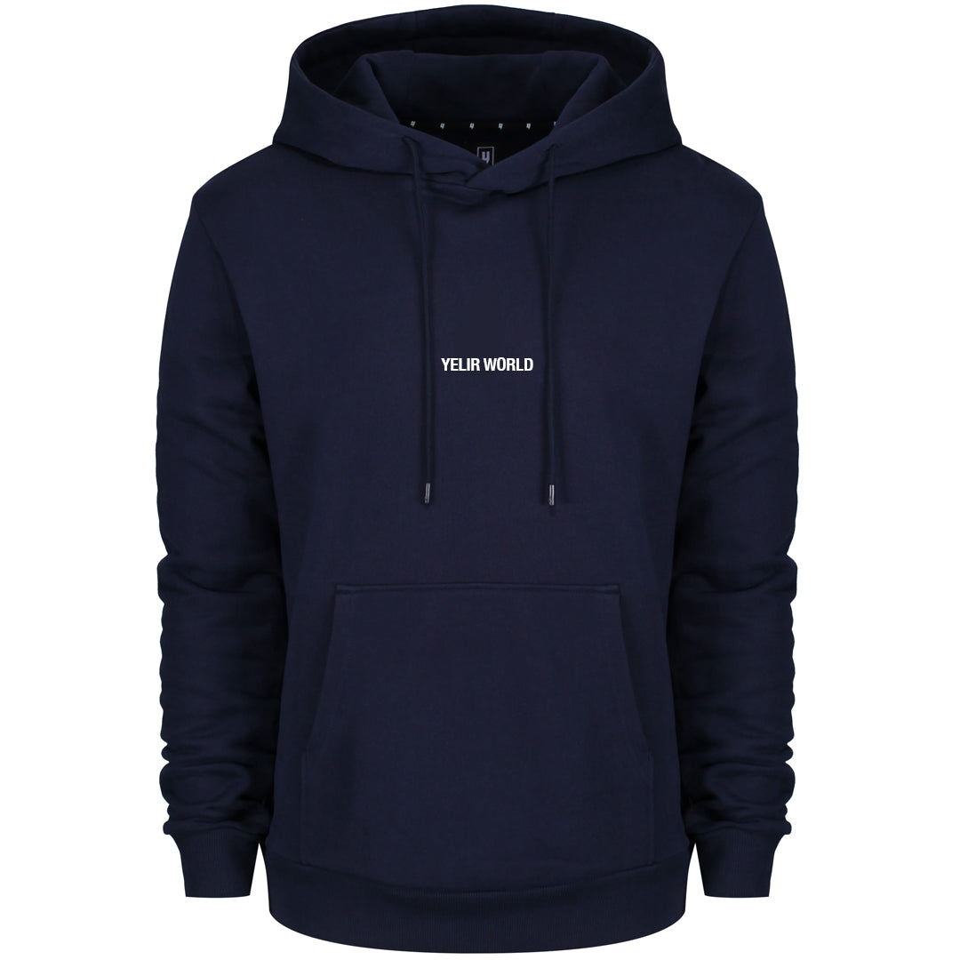 YELIR WORLD LOYALTY CLUB HOODY NAVY