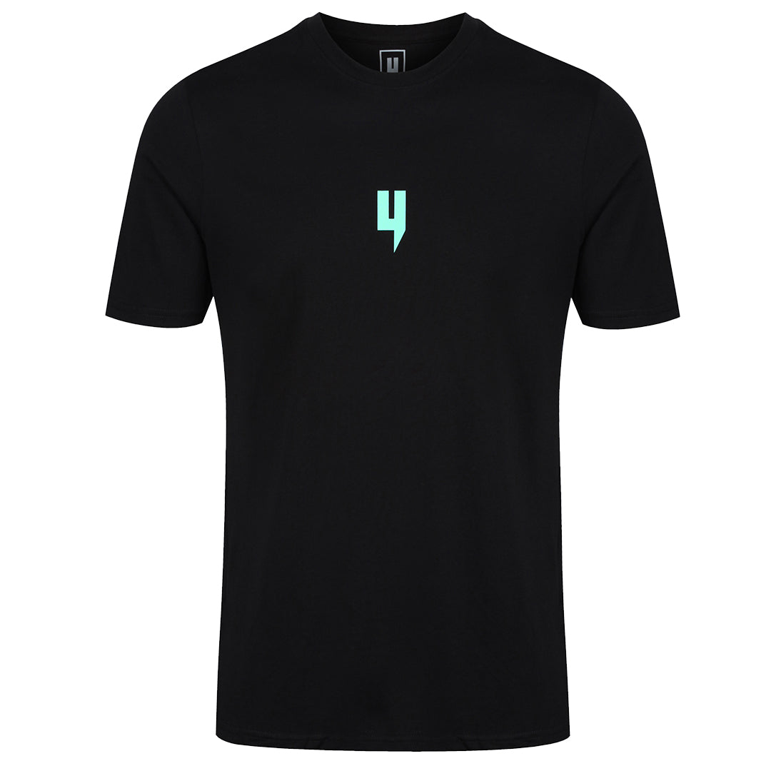 YELIR WORLD Y LOGO TEE BLACK MINT