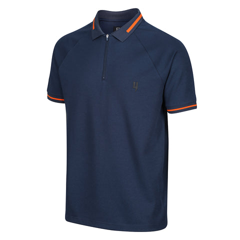 YELIR WORLD POLO AQUA NAVY ORANGE