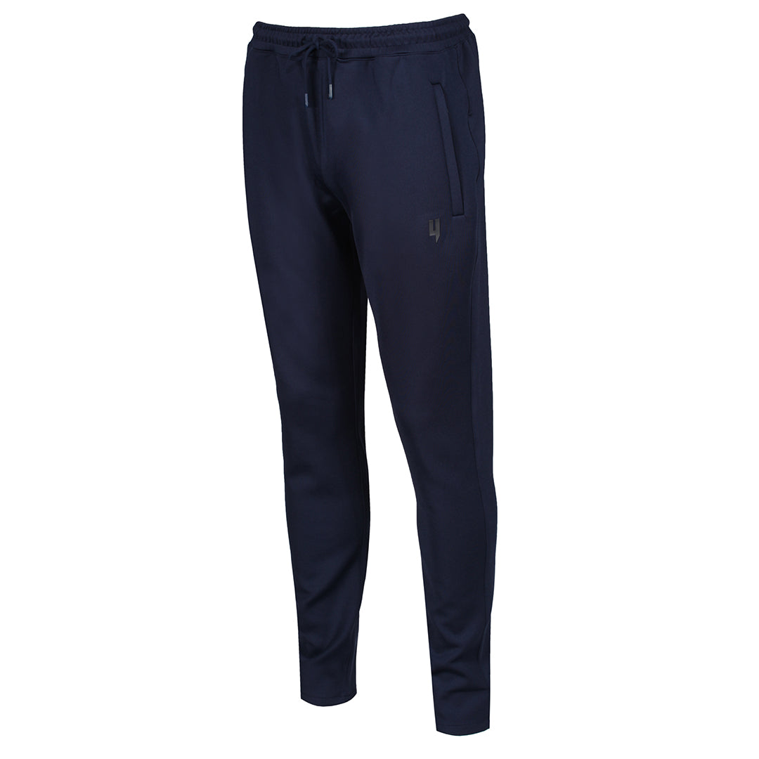 YELIR WORLD TRACK BOTTOMS NAVY