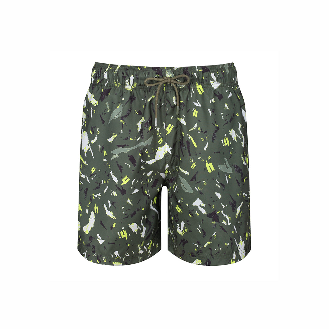 YELIR WORLD SWIM SHORTS Y CAMO KHAKI