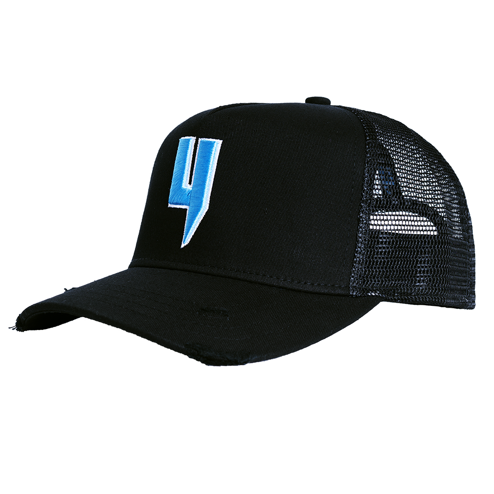 YELIR WORLD Y LOGO CAP BLACK/BLUE Y