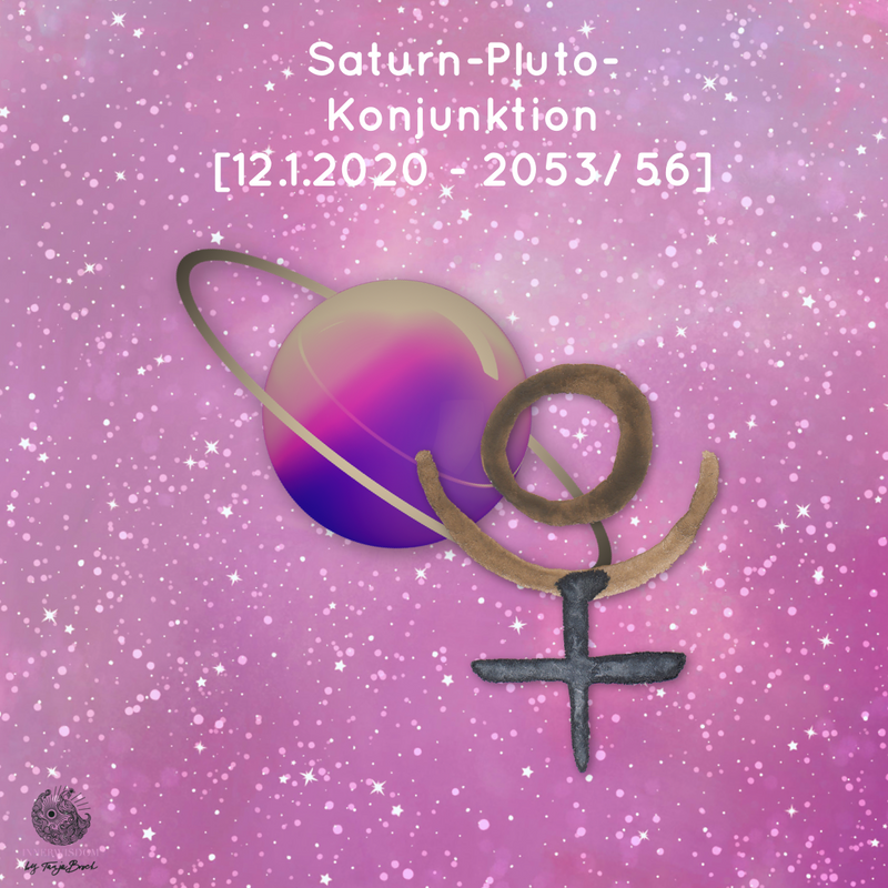 Saturn-Pluto-Konjunktion [2020 - 2053/ 56]