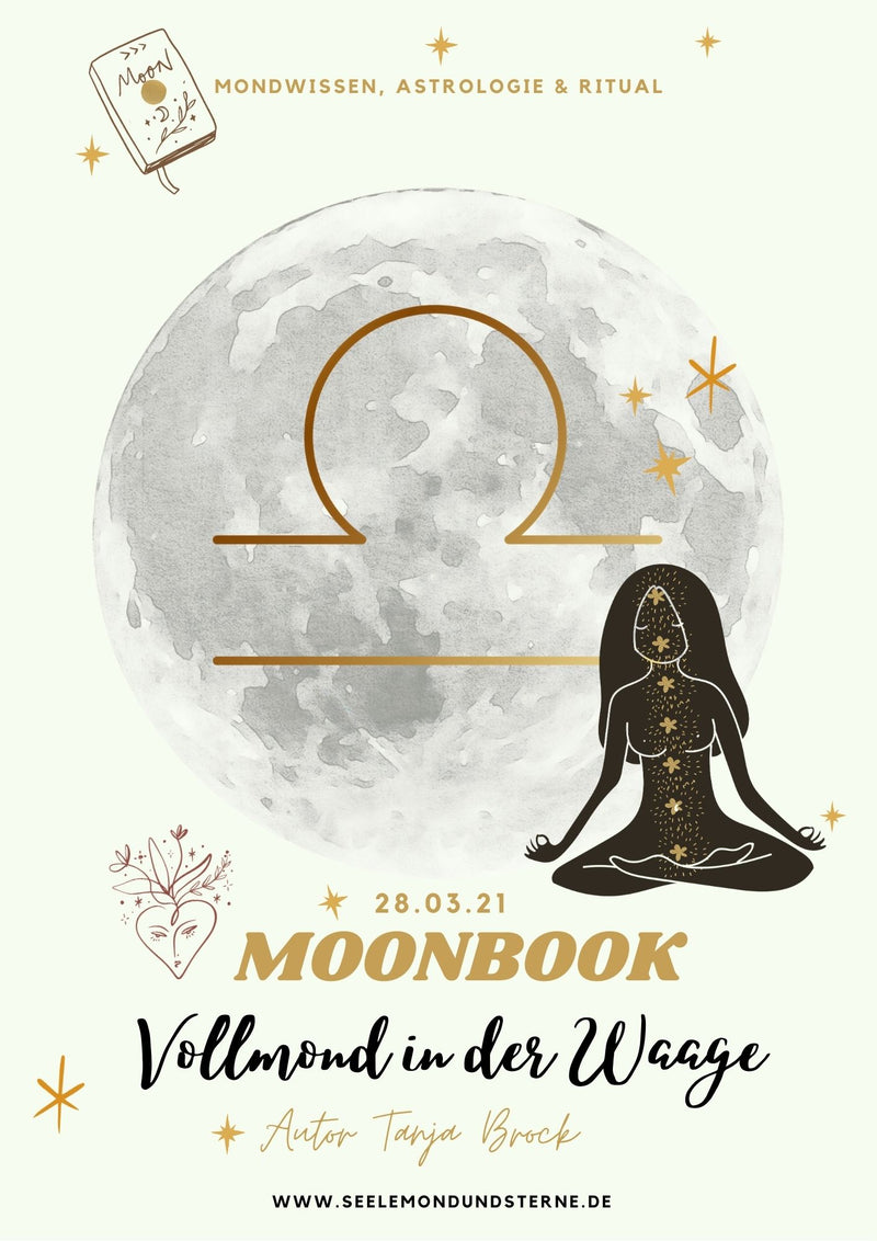 Moonbook: Waage-Vollmond - Innerwisdom-Shop, Tanja Brock