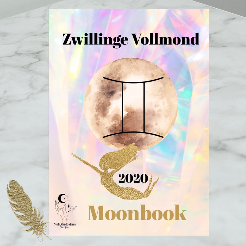 Moonbook: Zwillinge-Vollmond - Innerwisdom-Shop, Tanja Brock