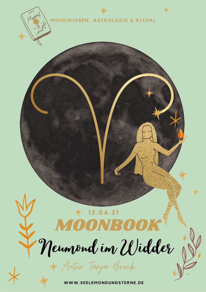 Moonbook: Widder-Neumond - Innerwisdom-Shop, Tanja Brock
